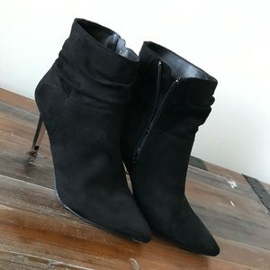 Black Booties. Size 7.5